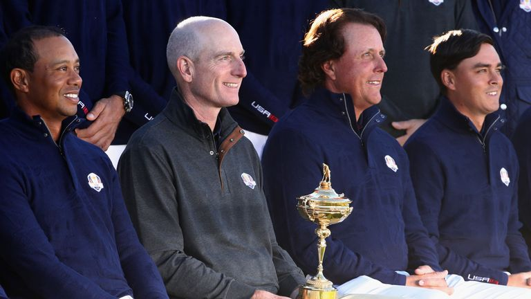 Tiger Woods and Phil Mickelson failed to win a point for Furyk
