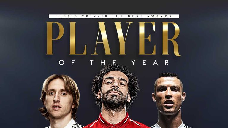 Who will be crowned FIFA's Player of the Year?