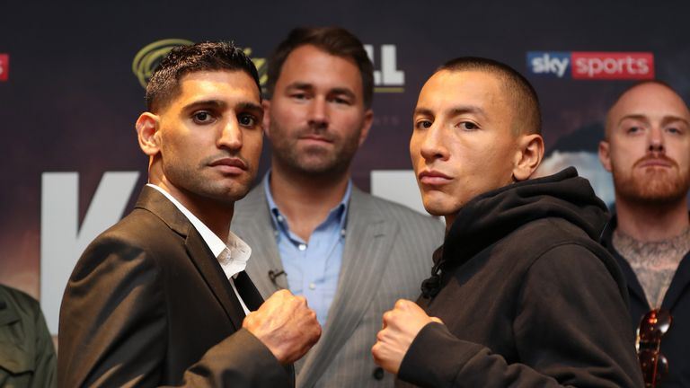 Khan faces Vargas this Saturday night, live on Sky Sports
