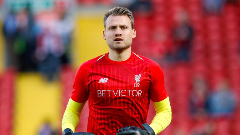 Simon Mignolet has made two appearances for Liverpool all season