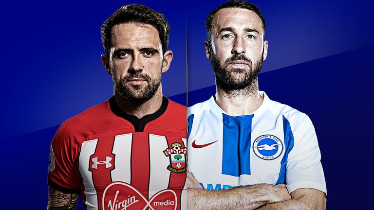 Southampton host Brighton on this week's Monday Night Football