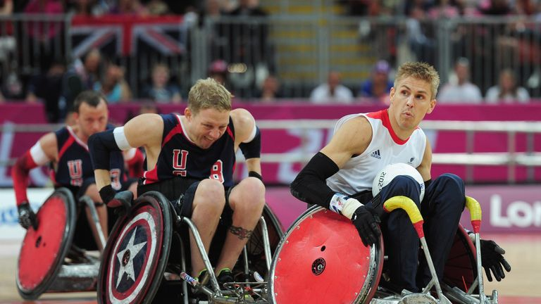 Brown skippered the Great Britain wheelchair rugby team at London 2012 and was also Team GB Paralympics captain