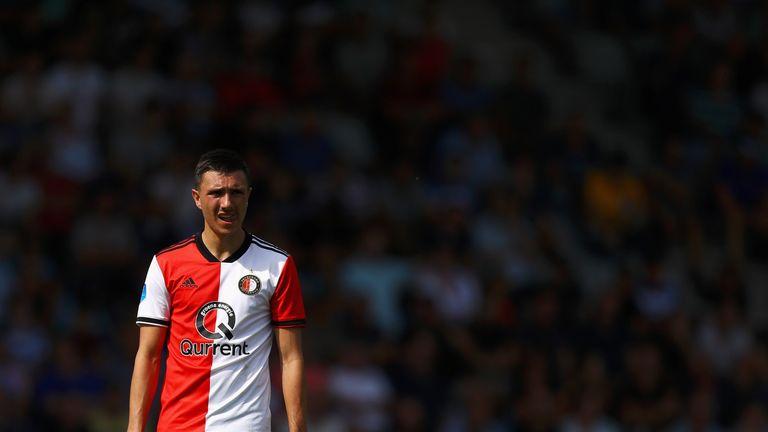 Steven Berghuis scored the equaliser for Feyenoord