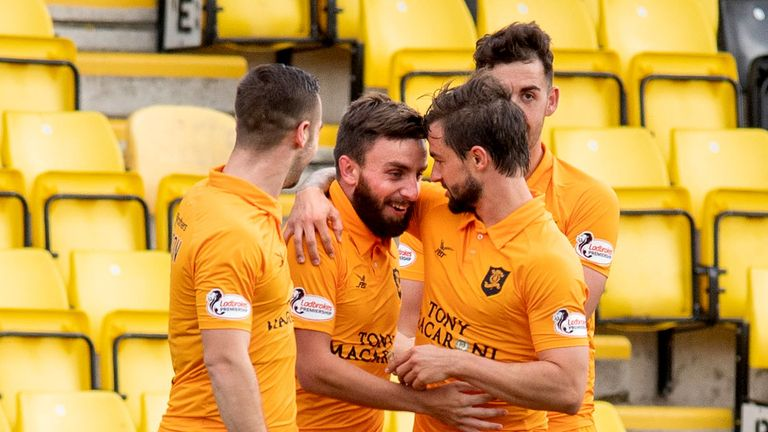 Steven Lawless's stunning volley gave Livingston victory against Hamilton last weekend