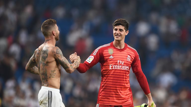 Thibaut Courtois made a winning start to life at Real Madrid