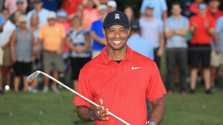 Woods ended the season second in the FedExCup standings