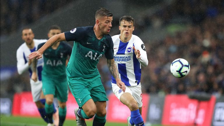 Alderweireld has made nine appearances for Spurs this season