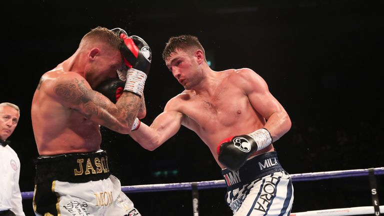 Tommy Langford boxed his way back into the contest