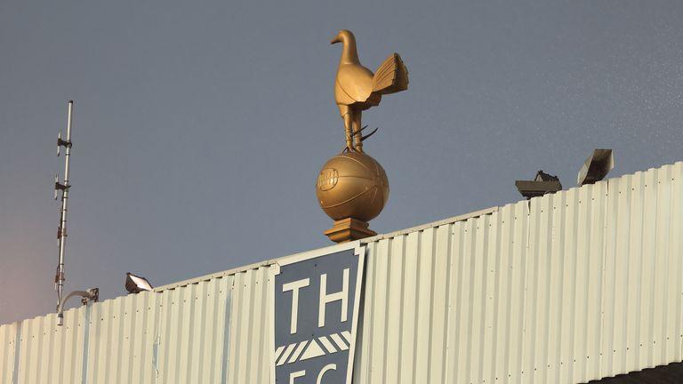 A 4.5m replica of White Hart Lane's golden cockerel will adorn Tottenham's new stadium