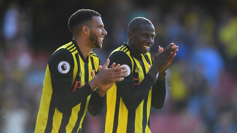 Doucoure has fond memories of playing against Southampton