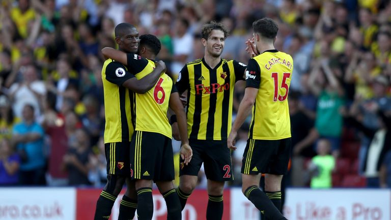 Watford have started the season with four consecutive victories