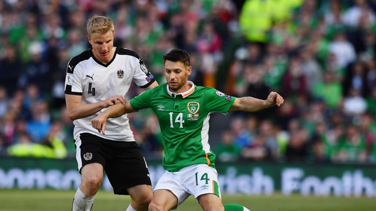 Hoolahan has made 43 appearances for the Republic of Ireland