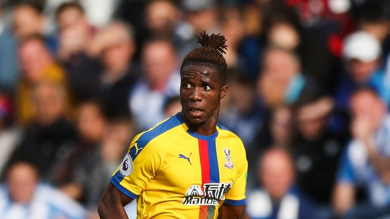 Wilfred Zaha is in fine form