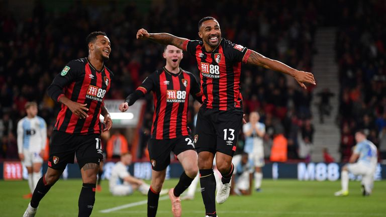 Callum Wilson struck in the 94th minute to seal Bournemouth's win