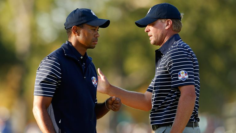Tiger Woods, Steve Stricker
