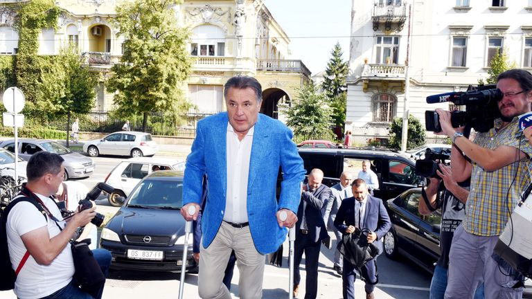 Zdravko Mamic has fled to Bosnia Herzegovina after being sentenced to prison