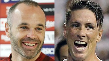 Andres Iniesta and Fernando Torres have both moved to Japan