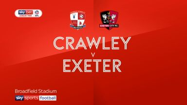 Crawley v Exeter