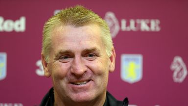 Dean Smith will take charge of his first Aston Villa game