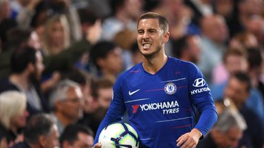 Eden Hazard has less than two years left on his Chelsea deal