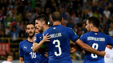 Jorginho's late penalty gave Italy a 1-1 draw with Poland in Bologna last month