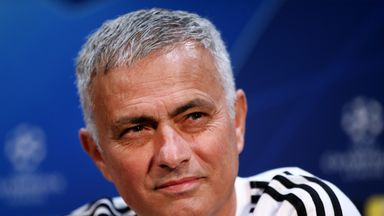 Manchester United manager Jose Mourinho is preparing to face Juventus for the first time in a European competition