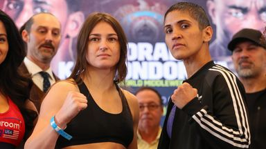Katie Taylor defends her WBA and IBF lightweight world titles against Cindy Serrano