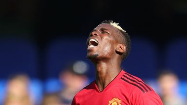 Jamie Carragher and Graeme Souness highlight the issues Paul Pogba has man-marking at set-pieces