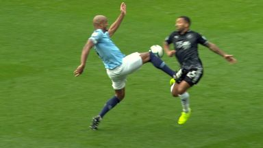 fifa live scores -                               Ref Watch: Kompany lucky to stay on
