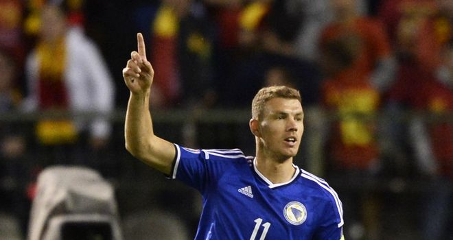 Edin Dzeko keen on Premier League return despite failed Chelsea move