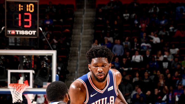 How will Joel Embiid handle the second game in two nights?