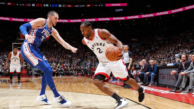 Toronto Raptors put league-best record to test with visit of Philadelphia 76ers | NBA News |