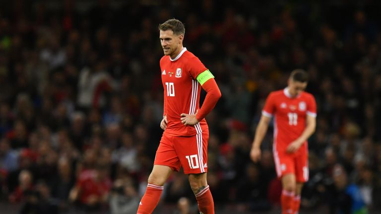 Aaron Ramsey is in the latest Wales squad