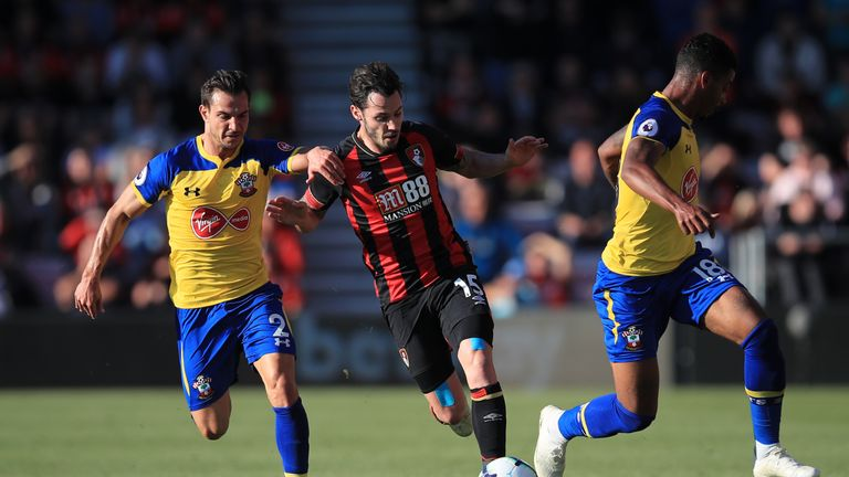 Southampton were the better side but were held to a draw by Bournemouth