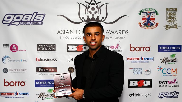 Nabi scooped the young player accolade at the 2013 Asian Football Awards