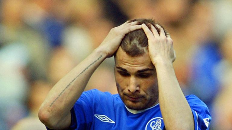 Adrian Mutu failed a drug test in 2004 while at Chelsea