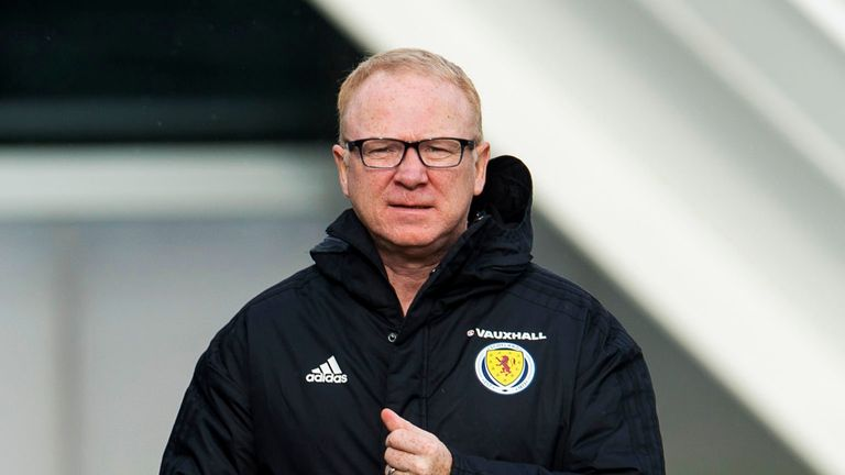Alex McLeish's Scotland team will take on World Cup semi finalists Belgium