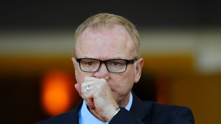 Alex McLeish insists there are no issues between him and Griffiths