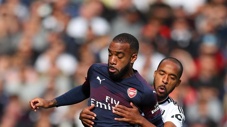 Emery believes Lacazette can improve