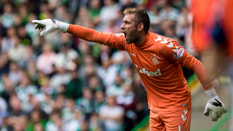 Allan McGregor is back at Ibrox for his second spell with Rangers