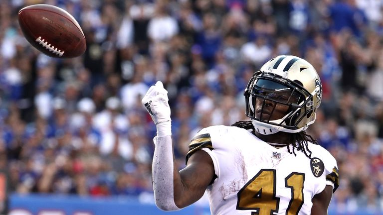 Alvin Kamara is one to watch from the New Orleans Saints  explosive offense 85cbe61a11999