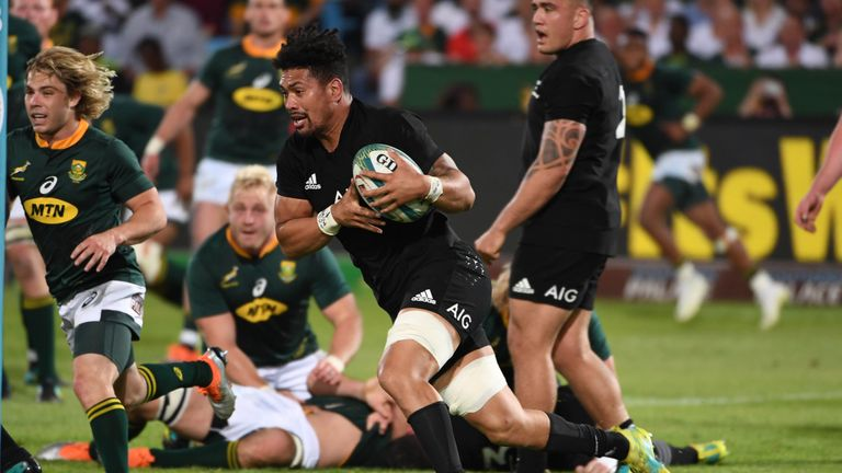 Ardie Savea was the hero for the All Blacks against the Springboks