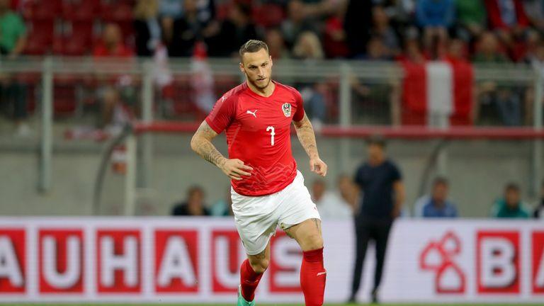 Marko Arnautovic will lead the Austria attack in Vienna
