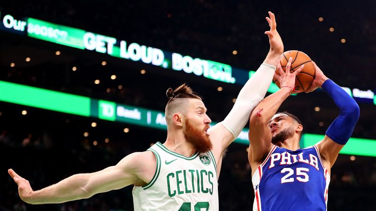 Boston were too strong for Philadelphia on opening night in the NBA