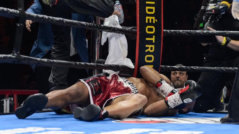 Gabriel Campillo was one of Beterbiev's perfect knockout victims