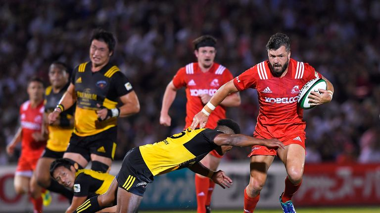Ashley-Cooper has spent the last couple of years playing for the Kobe Steelers
