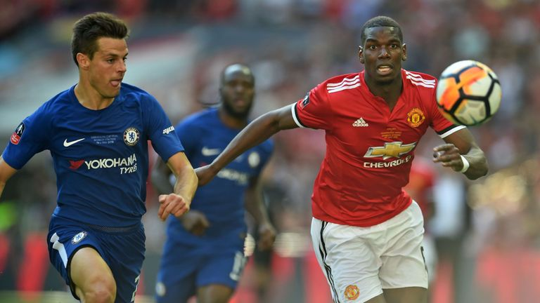 Pogba will return to action with United against Chelsea, live on Sky Sports