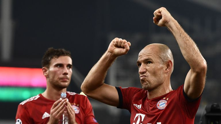 Bayern Munich have won the Bundesliga title for the last six years