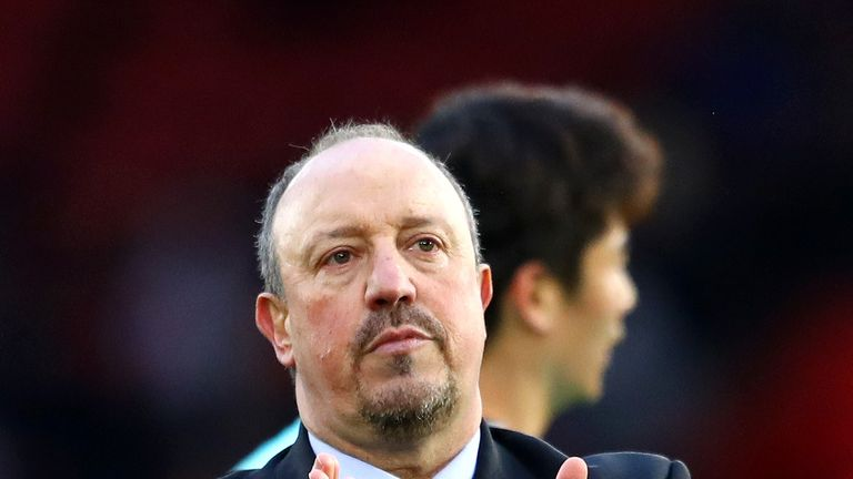 Rafa Benitez exclusive: I'm more relaxed, but not very relaxed | Football News |