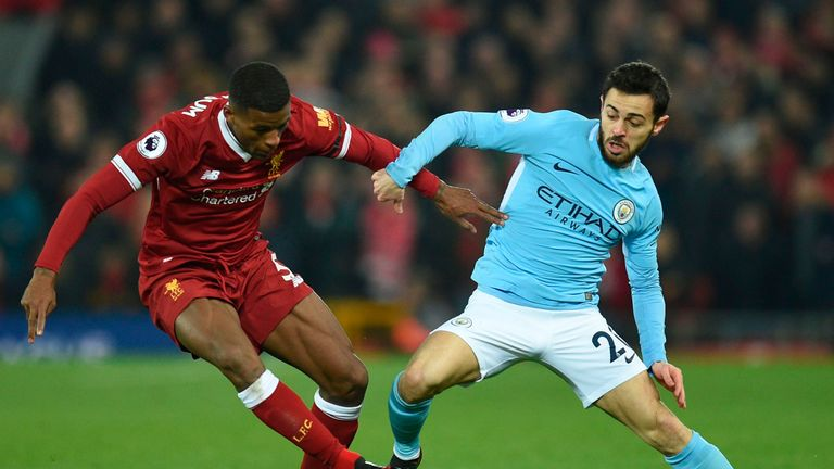[Teams] Liverpool vs Man City: Confirmed Line-ups From Anfield